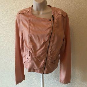 SANCTUARY peach colored jacket size M